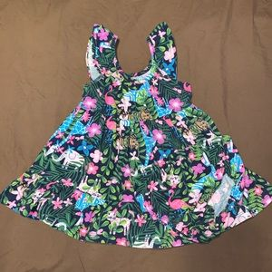 WonderKids baby girl dress with diaper cover